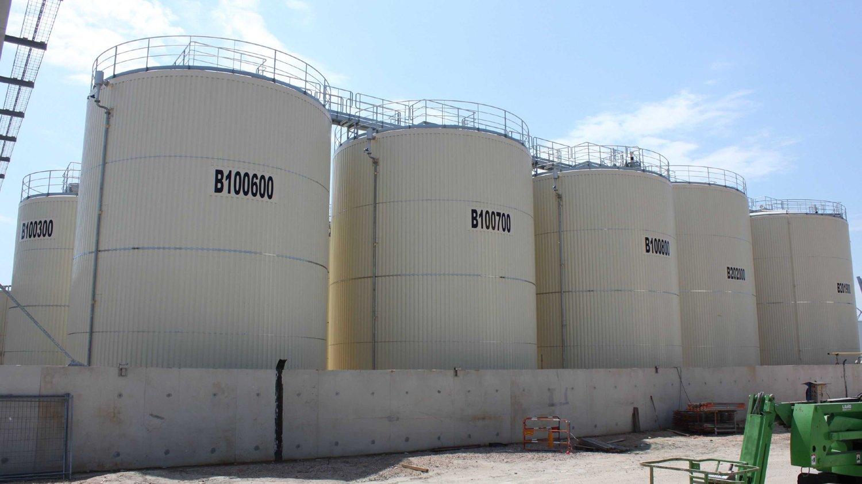 нефтяные резервуары