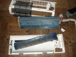 чистка вентилятора кондиционера своими руками